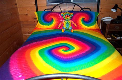 Cool Double Duvet Covers Tie Dyed Bedding From Tara Thralls Tiedyes Com