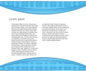 brochure header design vector abstract blue header and footer brochure template design
