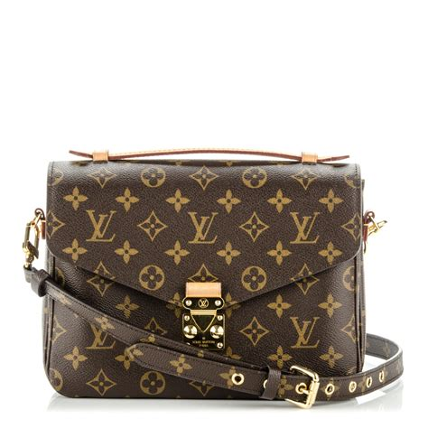 LOUIS VUITTON Monogram Pochette Metis 177177