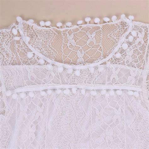 Dress Wanita Casual Sleeveless Dress Putih dress wanita casual sleeveless dress size s