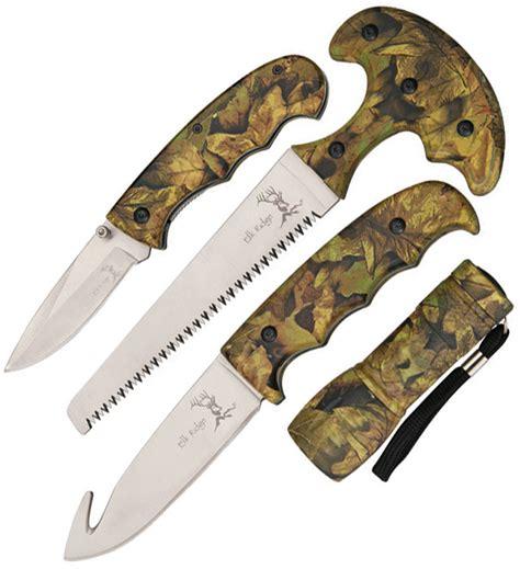 Zia Overall Set Orange er273ca elk ridge knife set orange