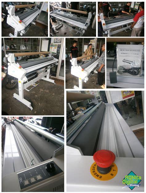 Mesin Laminasi Otomatis mesin laminasi ronita dp ronita digital printing