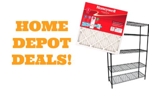 home depot deals air filters more southern savers