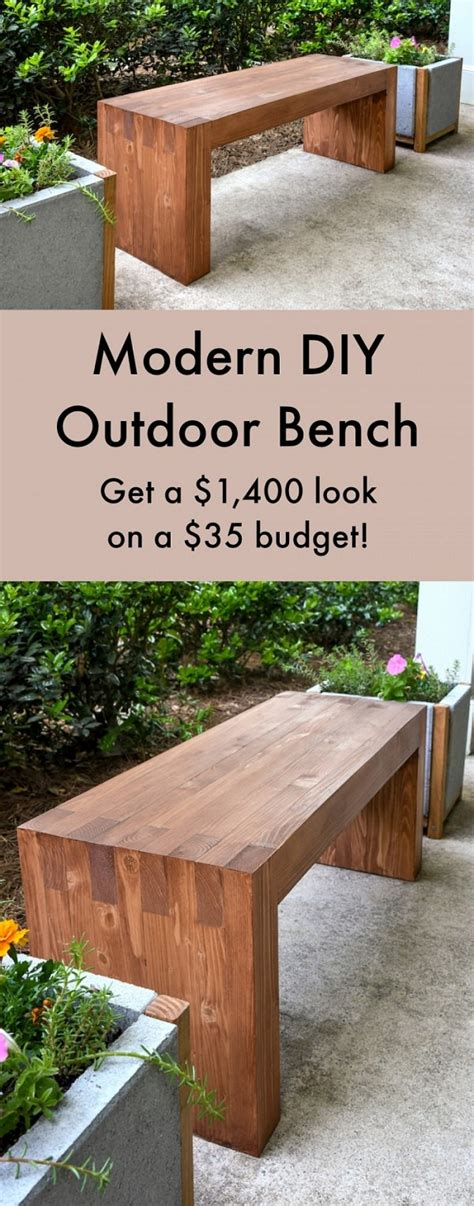 wooden benches diy 20 amazing diy garden furniture ideas diy patio