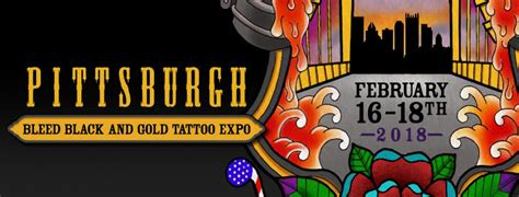 tattoo convention pittsburgh 2018 bleed black and gold pittsburgh tattoo expo contest