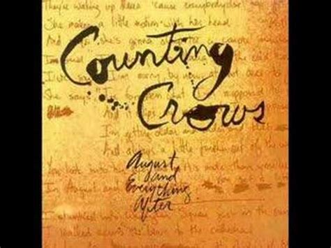 counting testo king counting crows musica e