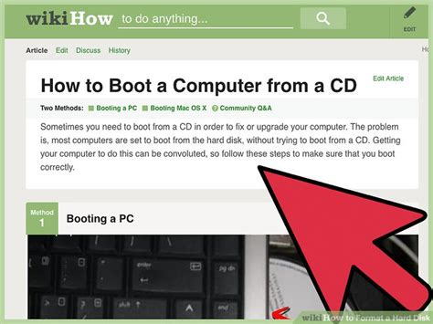 format hard disk using bios 5 easy ways to format a hard disk wikihow