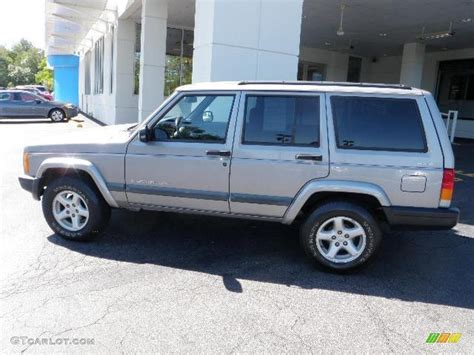 2001 silverstone metallic jeep sport 4x4 36347694 gtcarlot car color galleries