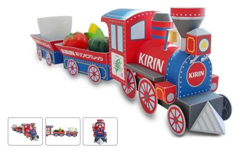 printable paper christmas train papercraft model for kids train town template pictures