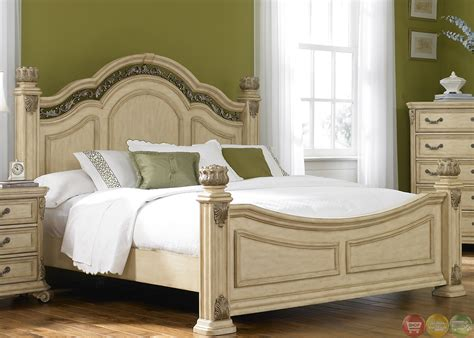 whitewash bedroom furniture messina estates ii whitewash finish poster bedroom set