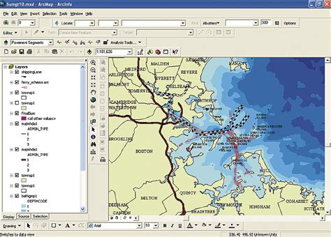 boat shipping map arcnews spring 2007 issue risks to boston harbor