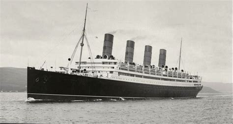 trans atlantic passenger ships past and present classic reprint books cunard line aquitania as introduced liners