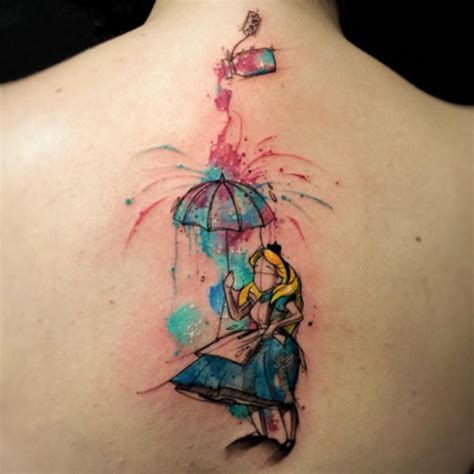 30 cool alice in wonderland tattoos