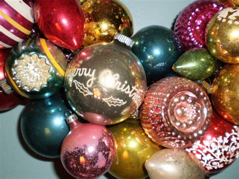 vintage christmas ornaments pictures photos