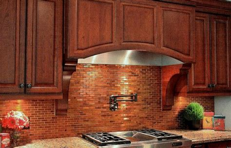 copper tile backsplash for kitchen copper subway tiles townhome ideas
