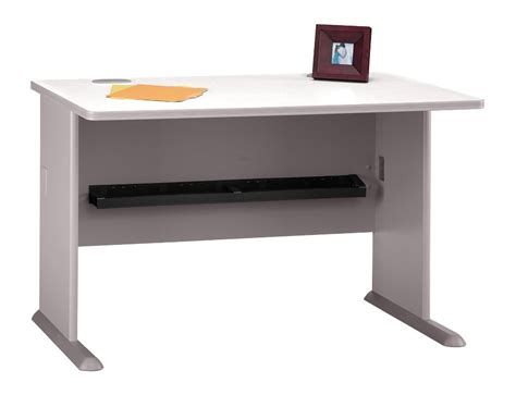 series a pewter 48 inch desk from bush wc14548 coleman