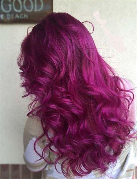 show me the color magenta a magenta hair color allows you to show everyone how