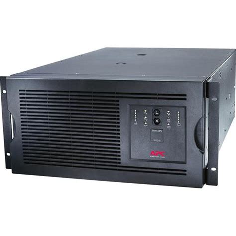 Apc Sua5000rmi5u apc smart ups 5000va 230v rackmount tower sua5000rmi5u b h