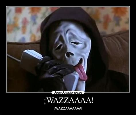 Wazzup Meme - scary movie scream wazzup mask memes