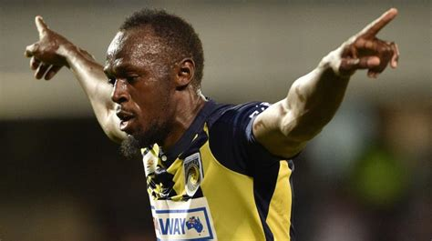 a league to kick with central coast mariners unsure usain bolt future