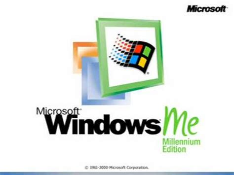 Windows Me windows me logo 2000 2006