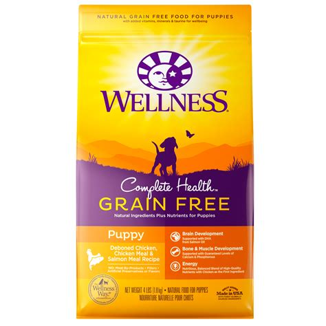 wellness large breed puppy food complete health grain free puppy wellness pet food