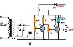 capacitor charger lead acid a capacitor charging circuit consists of a battery an