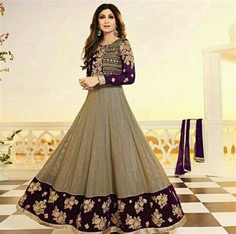 Anarkali Wedding Dressbaju Indiabaju Muslim Baju Gaun Gamis Dress India Model Terbaru Cantik Modern