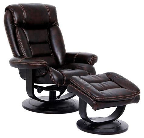 Recliners And Ottomans by Triton Swivel Recliner And Ottoman Nutmeg Rotmans