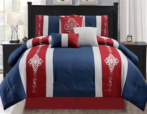 red white comforter red white and blue bedding