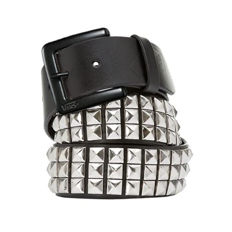 vans studded leather belt vans official store