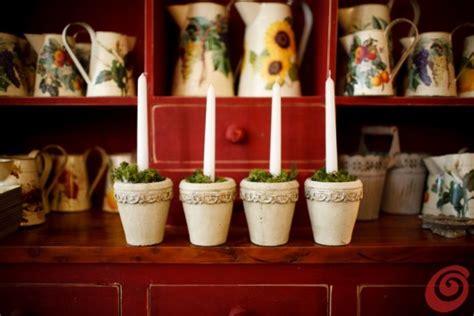 candele per l avvento addobbi di natale le candele per l avvento casa e trend