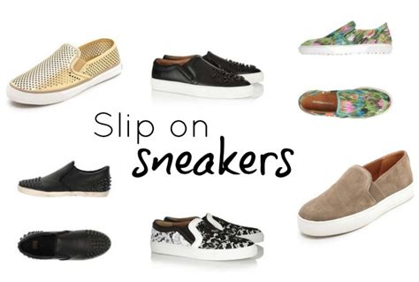 the new it sneaker slip on sneakers chic everywhere
