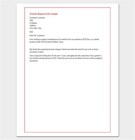 sle appointment request letter 14 exles in word pdf