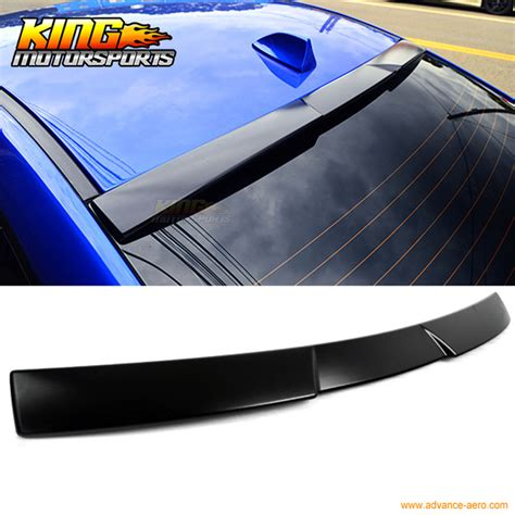 2008 wrx roof spoiler for 15 16 subaru wrx v style unpainted roof spoiler wing
