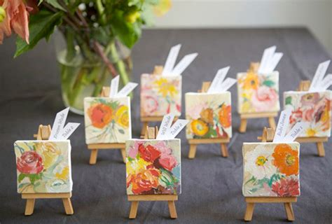 do it yourself wedding favors ideas favor on the table