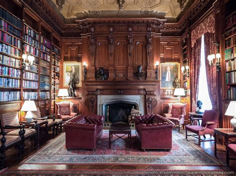 French Country Ranch House mansion library literary club location scout sam