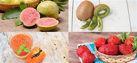 fruit with most vitamin c 10 fruits high in vitamin c healthsomeness