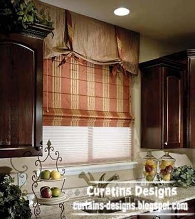 kitchen window treatments 10 exclusive roman shades designs for kitchen roman blinds