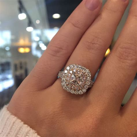 wedding rings with pink diamonds best 25 pink engagement ring ideas on