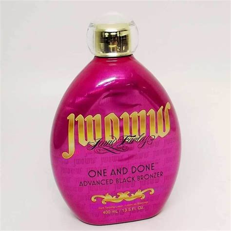 jwoww tattoo tanning lotion jwoww one and done bronzer tanning lotion 13 5 oz