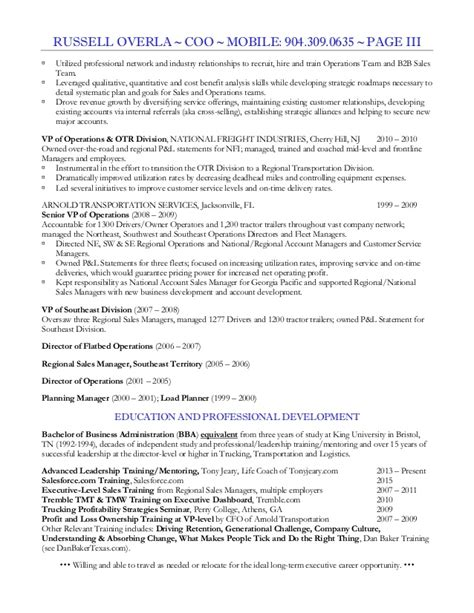 Coo Resume by Overla Coo Resume 2015