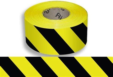Baricade Line 3 X 300m black yellow striped i barricade