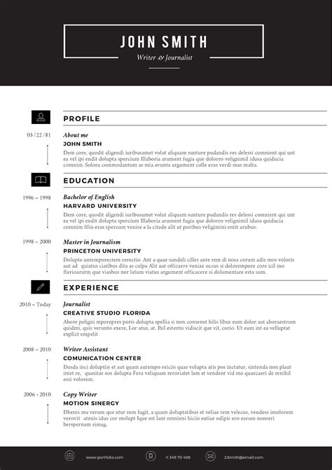 Resume Template Creative Free Word free creative resume templates microsoft word resume builder