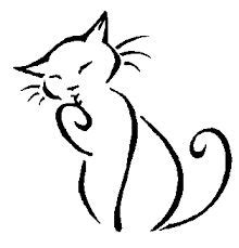 basic cat painting designs best 25 simple drawings ideas on