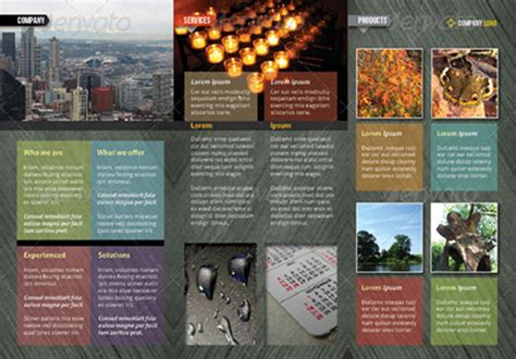 indesign tri fold brochure template indesign a4 tri fold brochure
