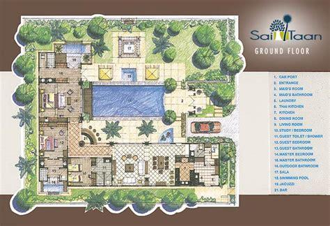 floor plans sai taan phuket property
