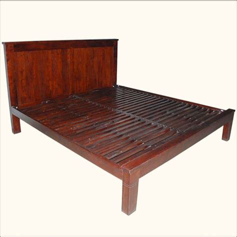 California King Wood Platform Bed Frame Modern Midnight Solid Wood Platform Bed Frame With Nightstands California King Beds And