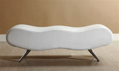 white leather benches stealth ii bench white winnipeg furniture store faux leather