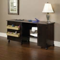 sauder sewing and craft table finishes walmart